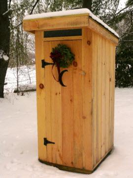 """outhouse"""