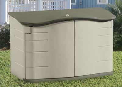 Rubbermaid Storage Unit 3748 & A collection of reviews of the Rubbermaid horizontal storage shed
