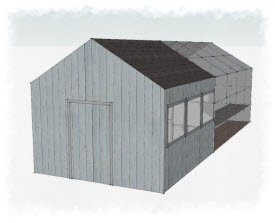 shed designs