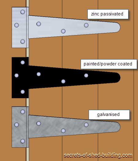 Shed Door Hinges U0027