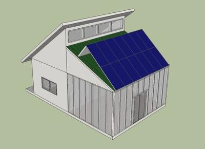 The Solar (powered) Shed