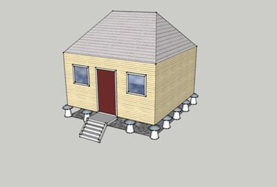 A mushroom shed - not!