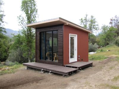 The Urban Rancher Shed nears completion